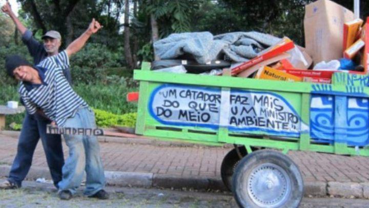 Que governo que nada! 90% do lixo reciclado no Brasil é graças aos catadores de recicláveis