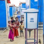 ONU usa energia solar para levar água potável a refugiados rohingya