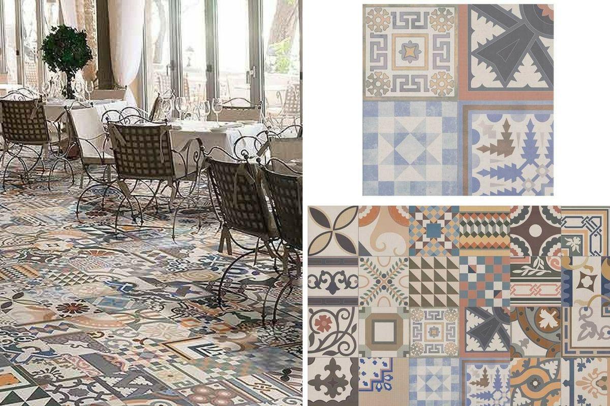5 Of The Best Patterned Floor Tiles The Green Eyed Girl