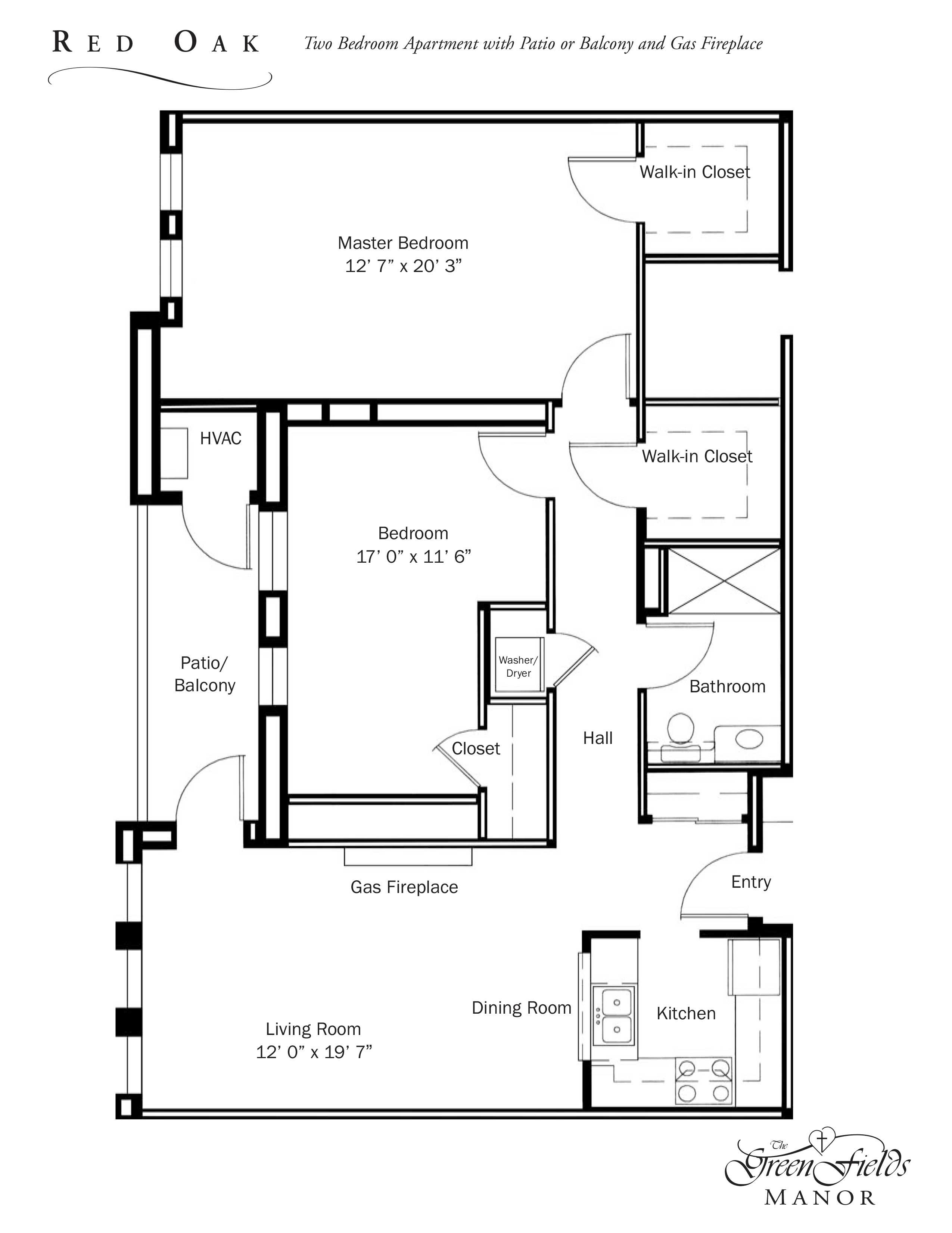 Greenfield Manor Floor Plans