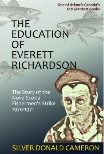 The cover of The Education of Everett Richardson