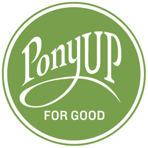 Ponyup For Good logo