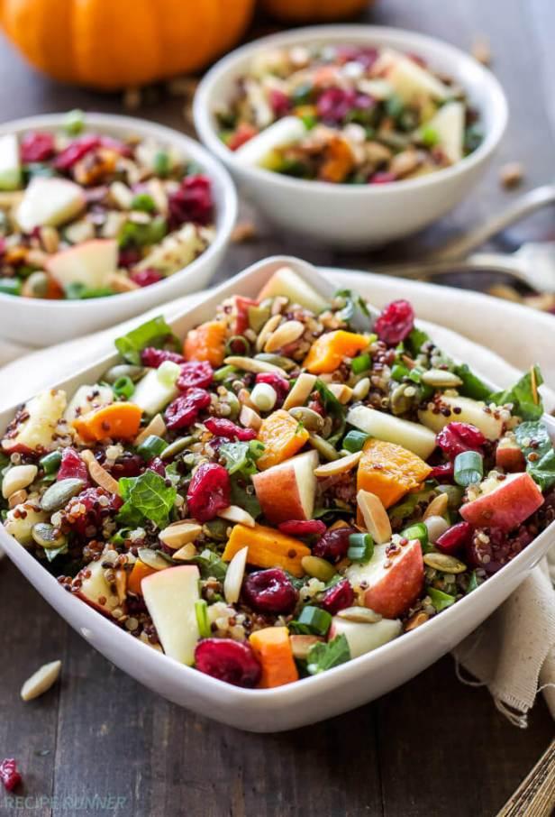 Vegan Harvest Quinoa Salad
