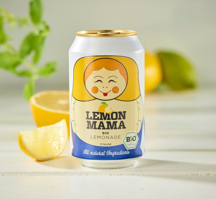 Mama øko lemon sodavand