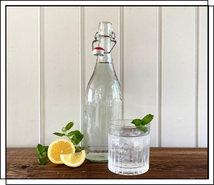 Effervé flasken som vandflaske