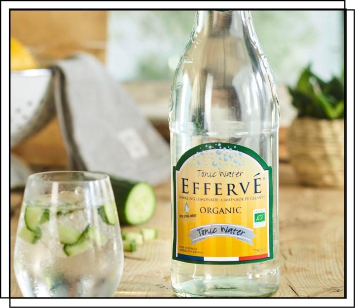 Effervé Økologisk Tonic er en klassisk tonic med en rette balance mellem bitterhed og sødme
