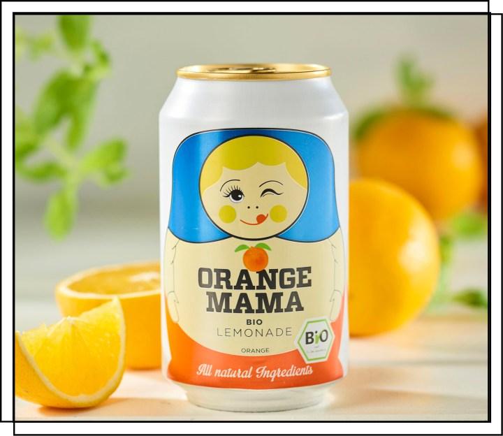 Lækker økologisk appelsin sodavand