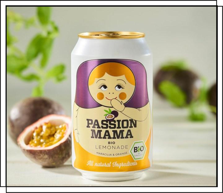 Økologisk passion sodavand kun på naturlige ingredienser