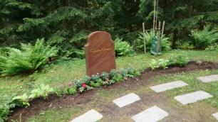 Greta Garbo's place of rest