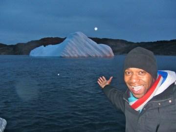 Iceberg off Nuuk, Greenland