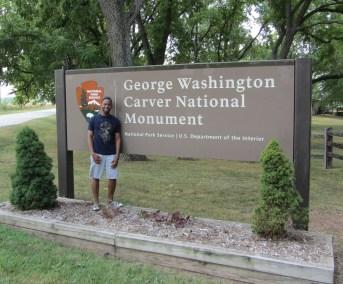 @ George Washington Caver National Monument in Diamond, MO