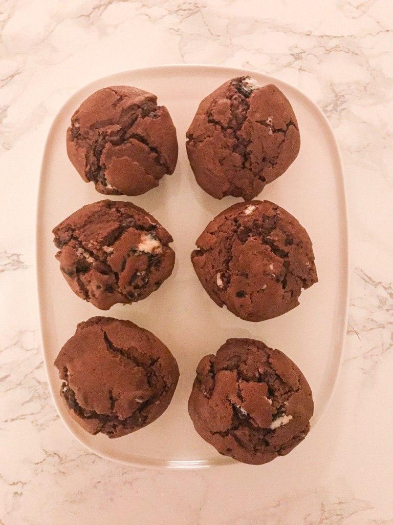 Muffins agli Oreo