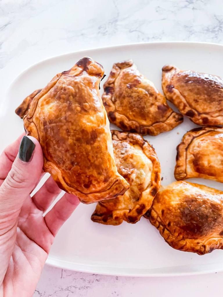 Empanadas vegetariane al forno