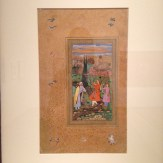 'Folio from the Muraqqa Gulshan: The Poet and the Prince' by Salim Qulir