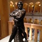 """'Nude study of Balzac (Type """"C"""")' ca 1892, cast 12/12, 1976 Auguste Rodin"""