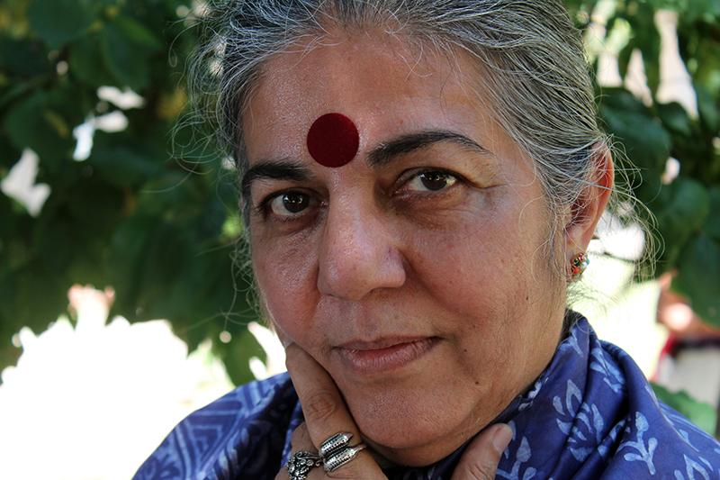 Dr. Vandana Shiva at the Aurora Festival 2014 © Aurora