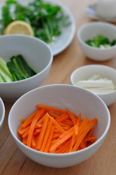 Carrot-Springrolls