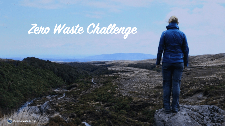 the green walnuts- zero waste challenge