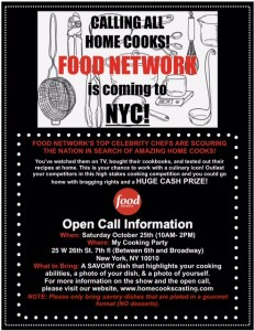 NYC Open Call Flyer