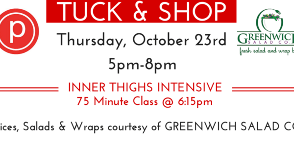 Tuck & Shop, 10/23 at GRW Pure Barre w GRW Salad Co
