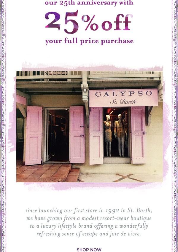 OMG Calypso Sale!