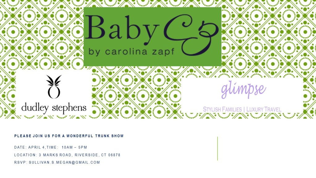 April 4, 2017 Baby CZ - Dudley Stephens - GG Trunk Show Invitation