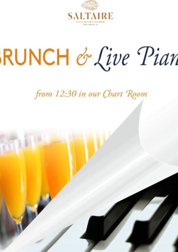 Sundays Brunch with Piano at Saltaire
