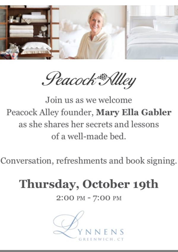 Love linens? Attend this event.