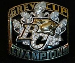 2006 Grey Cup ring