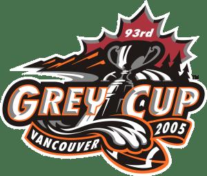 2005 Grey Cup Logo