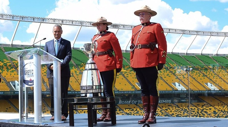 2018 Grey Cup Announcement