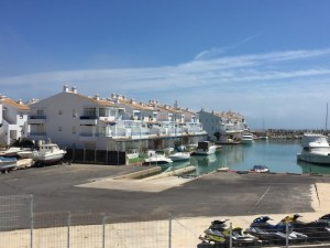 Alcossebre, marina, It seems €500k gets you one of these with your own private dock.