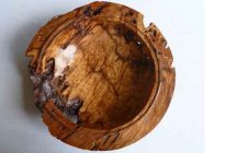 Large Pepperwood bowl