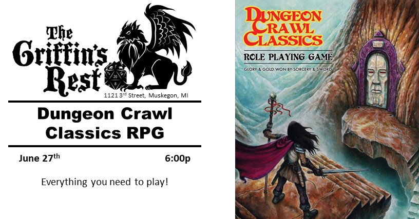 Dungeon Crawl Classics RPG |