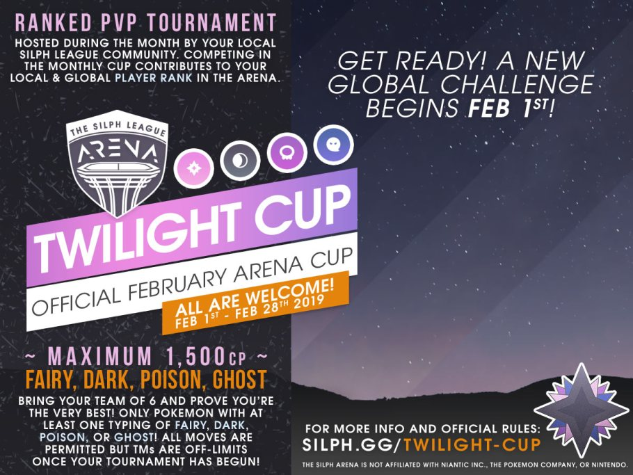 2019 Pokemon Go League: Twilight Cup |