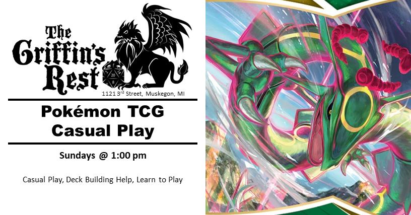 Pokémon TCG – Casual Play