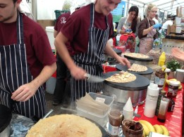 The Welsh Crepe Company in action (Photo attributed to Jordan Harris)