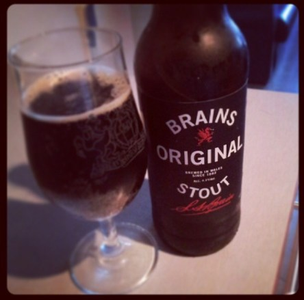 Brains Stout again from Danny. Can you tell he works for Brains?