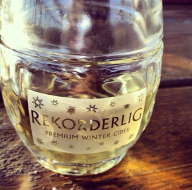 A winter Rekorderlig sent in from Andrew. Cheers mate!