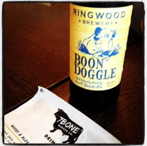 Boon Doggle sent in by Josh who enjoyed it in Southampton's 7 Bone Burger Co.