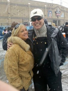 Michelle McKormick and BBQ Bob