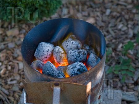 Grillin Tip:   Lighting Charcoal