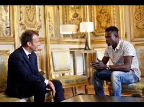 Mamoudou Gassama thegrio.com