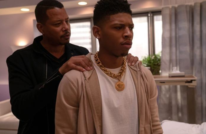 "Terrence Howard and Bryshere Y. Gray in the ""The Depth of Grief"" episode of EMPIRE airing Wednesday, Oct. 31 (8:00-9:00 PM ET/PT) on FOX. (Photo by FOX via Getty Images)"