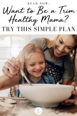 Want to Be a Trim Healthy Mama Try This Simple Plan PIN