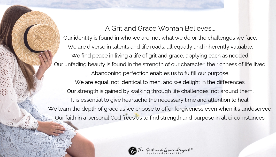 What A Grit and Grace Woman Believes