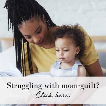 Mom guilt board