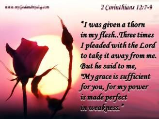 2 Cor 12.7-9