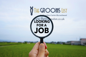 Find for with horses on The Grooms List by Caroline Carter Recruitment Ltd