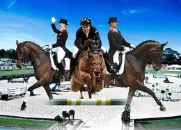 Christmas gift ideas for horse lovers - Tickets to equestrian shows